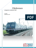 Terms of Reference for Bengaluru Commuter Rail