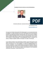 Artículo Elecciones Presidenciales en Colombia 2018 -2022