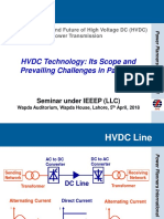 Ieeep-hvdc Presentation by Hjz, Ppi - 05-04-2018