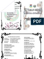 Buku Program Lawatan Surau 2015