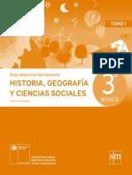 Historia, Geografía y Ciencias Sociales 3º básico - Guía didáctica del docente tomo 1.pdf