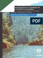 La Participación en El Manejo de Áreas Naturales Protegidas