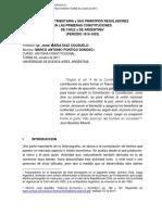 Potestad Tributaria y Sus Principios Reguladores Argentina Chile