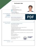 CV ESP Europass 20170915 Nikzad Italiano