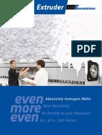 Brochure Extruder