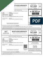 NIT-72606509-PER-2018-03-COD-2046-NRO-21490202072-BOLETA