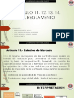 ARTICULO 11, 12, 13, 14