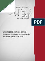 Guia_3_implementação de Endowments Em Inst Culturais