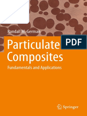 1  Particulate Composites-Fundamentals and Applications