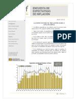 Informe inflación Universidad Di Tella