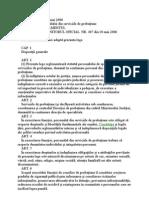 Statutul Personalului Din Serviciile de Probatiune