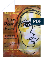 Slam Poetry Event 1