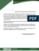 Muerte de un subteniente del Ejército Argentino en Salta