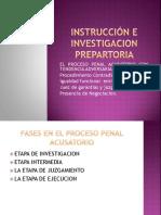 Instrucción e Investigacion Preparatoria