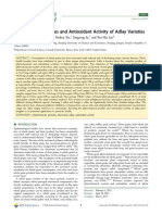 Phytochemical Profiles and Antioxidant Activity of Adlay Vareties