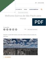 Melhores Bairros de São Paulo Para Morar_ Bairros Mais Desejados Da Capital