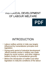 History of Labour Welfare[1]