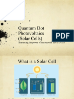 Simple Intro to Quantum Dot Solar Cell
