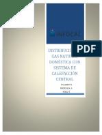 DISTRIBUCIÓN DE GAS NATURAL DOMÉSTICA CON  SISTEMA DE CALEFACCIÓN CENTRAL.docx