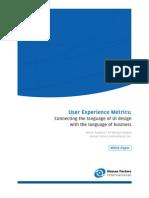 UX Metrics Whitepaper