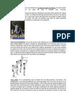 Tiros, Fintas, Pases en Baloncesto
