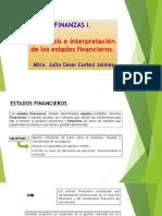 II. Análisis e Interpretación de Los Estados Financieros