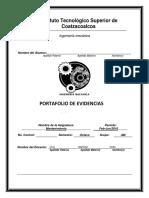 Portafolio de Evidencias ( Mantenimiento)