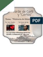 Tardes de Cafe y Cortos