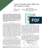 A Circular Polarization Alterable Square MPA With