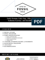 fossil final brand audit