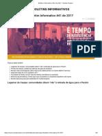 Boletim Informativo #41 de 2017 - Renato Roseno