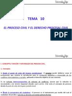 Tema 10 - Derecho Procesal Civil