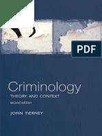 Criminology Theory & Context.