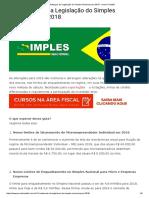 13 Mudanças Da Legislação Do Simples Nacional Para 2018 - Jornal Contábil