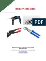 Catalogue Outillages