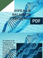 Profilaxia maladiilor ereditare