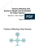 Topic 7. Sts' Copy. Factors Affecting Scores