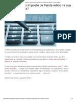 Como Calcular o Imposto de Renda Retido Na Sua Folha de Salários_ - Jornal Contábil