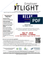 Employer Spotlights May 2018