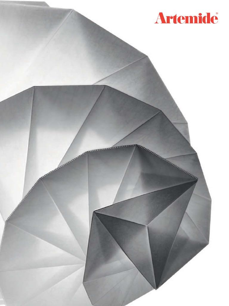 Artemide TOLOMEO LETTURA halo corpo Alluminio con diffusore basculante PERGAMENA