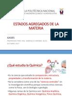 Clase 2. Estados Agregados de La Materia y Gases