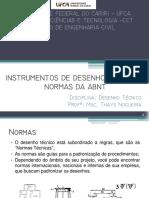 Aula 2 -Instrumentos de Desenho e Normas Da ABNT