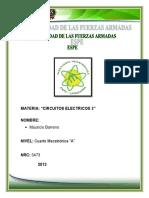 Informe Respuestas de Circuitos RLC