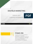 BKF Digitalis Marketing szakirányú továbbképzés rövid bemutató