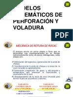 MODELOS MATEMATICOS DE PERFORACION Y VOLADURA