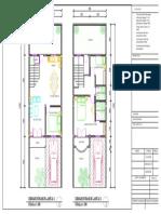Fix Denah Rumah 2 Lantai Cluster Permata Talas -Work