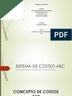 Sistema de Costeo ABC 1