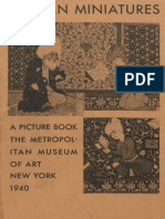 Persian Miniatures a Picture Book