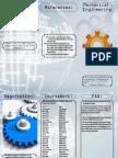 mechanical engineering pamphlet indesign