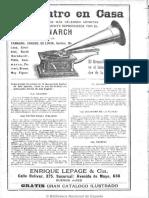 1903 10 10 Ruido y Gramófono